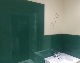 Bathroom Sink Before 304x241 Bathroom Sink Green Splashback After ...