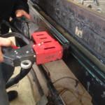 double glazed units applying warm edged sealant