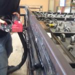 double glazed units warm edge sealant applied