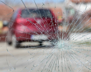 shattered windscreen addison