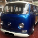 vw camper van front screen and chrome trim (2)